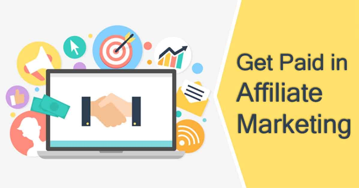get paid on affiliate marketing